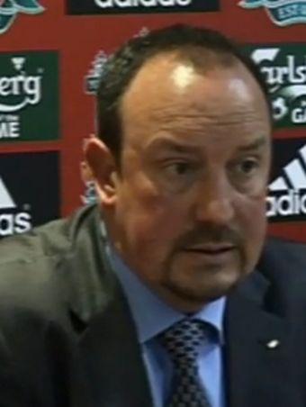 Rafa Benitez, a Liverpool menedzsere