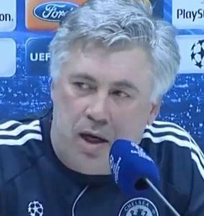 Carlo Ancelotti, a Chelsea menedzsere