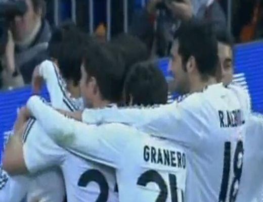 Valóságos gólparádét rendezett a Real Madrid