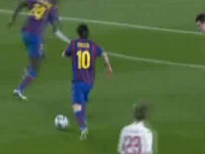 Messi megint nagyot játszott