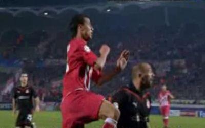 Chamakh (pirosban) biztosította be a Bordeaux győzelmét