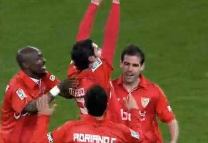 Drago góljával 2-0-ra is vezetett a Sevilla