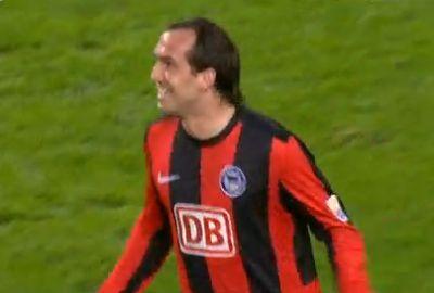 Gekas hármat vállalt magára a Hertha 5-1-es sikeréből