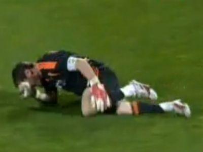 Casillas sérült meg, amikor kirohant a kapujából