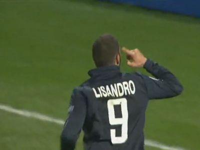 Lisandro duplázott a Bordeaux ellen