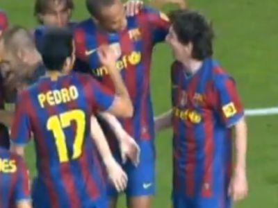 Messi (jobbra) tarthatatlan volt