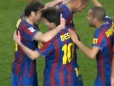 Az argentin triplázott a Valencia ellen