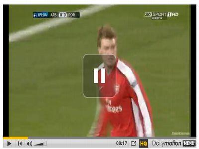 Arsenal - Porto: 5-0