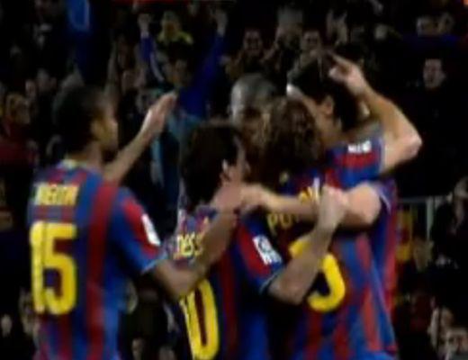 Nehezen, de végül 2-0-ra győzött a Barcelona