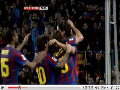 Barcelona - Osasuna: 2-0