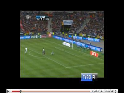 Franciaország - Spanyolország: 0-2