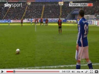 Frankfurt - Schalke: 1-4