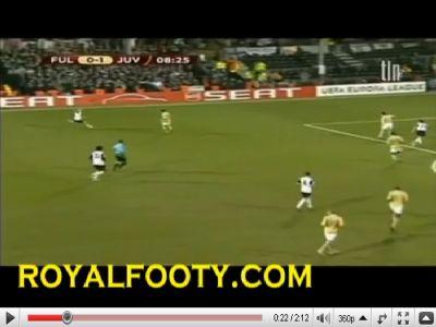 Fulham - Juventus: 4-1