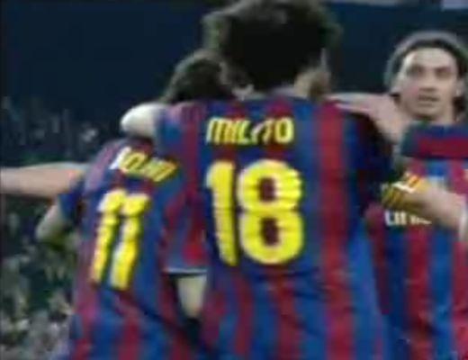 A Barca fél gőzzel nyert, a Bordeaux is a legjobb nyolc között
