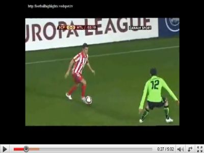 Sporting - Atletico Madrid: 2-2