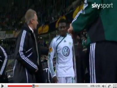 Wolfsburg - Rubin Kazan: 2-1