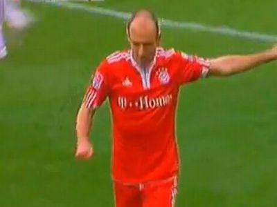 Robben sem segíthetett a Bayern baján