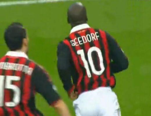Pazar gólt lőtt Seedorf 90. percben
