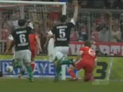 Hiába integettek a Hannover védői, 7-0-át nehéz megmagyarázni