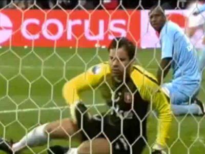Boschker tehetetlen volt a gólnál