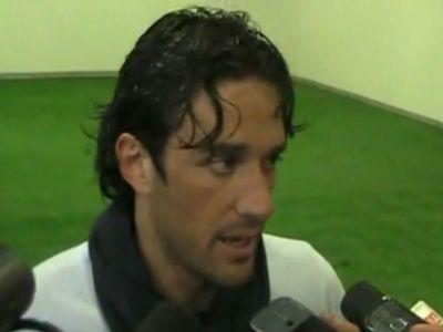 Luca Toni a Lazioban bízik