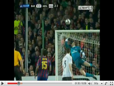 Barcelona - Arsenal: 4-1