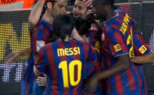 Esélye sem volt a Depornak a Barca ellen
