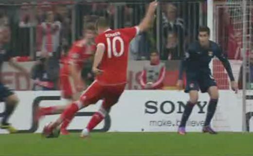 Robben góljával nyert a Bayern