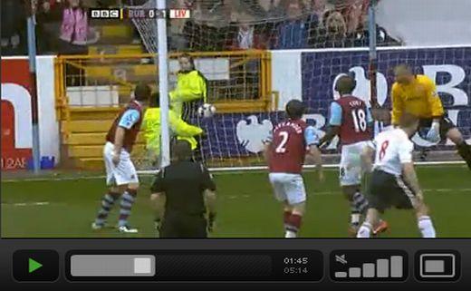 Burnley - Liverpool: 0-4