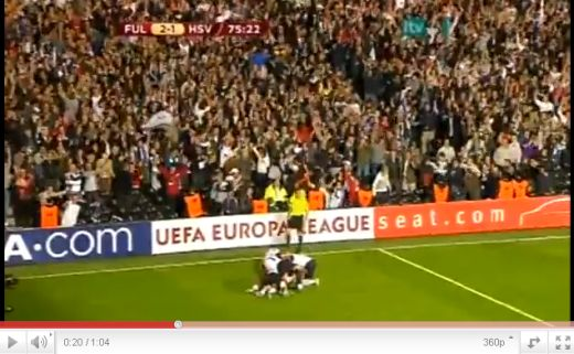 Fulham - Hamburg: 2-1