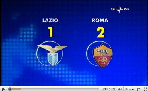 Lazio - Roma: 1-2