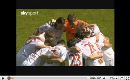 M'gladbach - Bayern München: 1-1