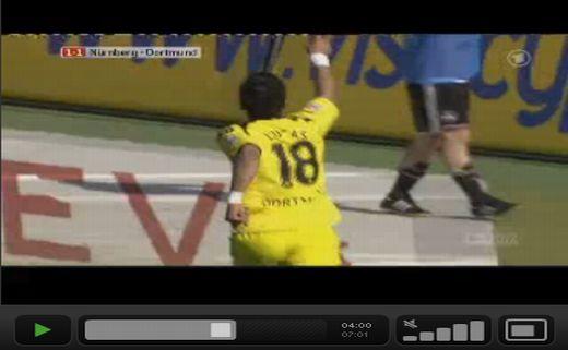 Nürnberg - Dortmund: 2-3