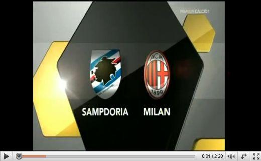 Sampdoria - Milan: 2-1