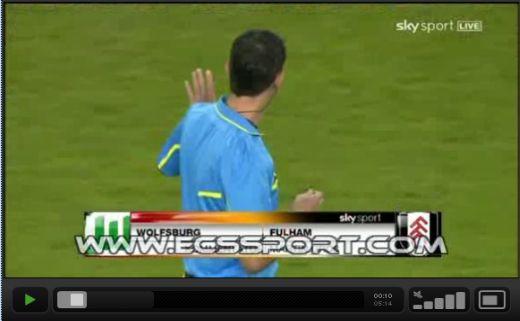Wolfsburg - Fulham: 0-1