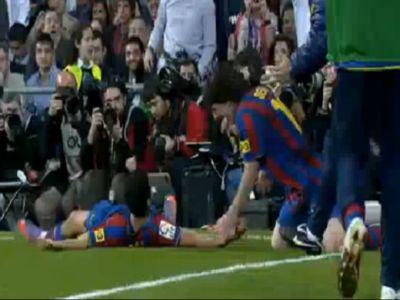 Messi (jobbra) és Pedro elintézte a Realt