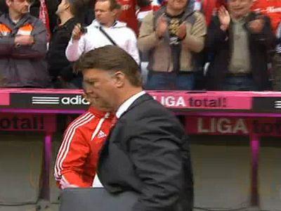 Van Gaal első bajnoki címét nyeri a Bayernnel