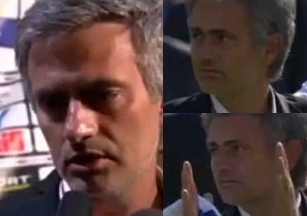 Így örült Mourinho a bajnoki címnek. Leginkább sehogy.