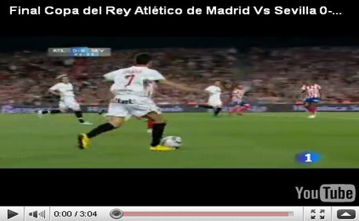 Atletico Madrid - Sevilla: 0-2