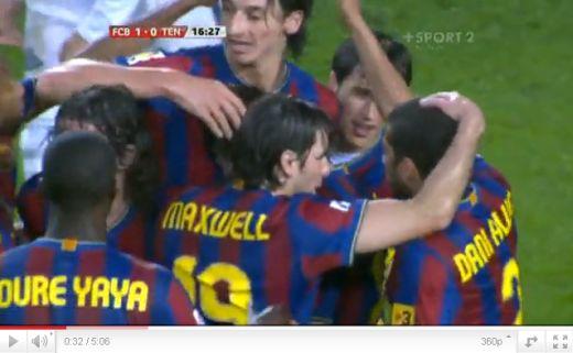 Barcelona - Tenerife: 4-1