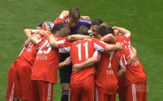 A Bayern München az új bajnok