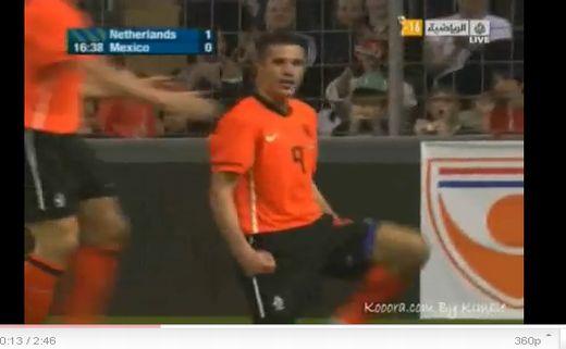 Hollandia - Mexikó