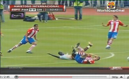 Paraguay - Elefántcsontpart: 2-2