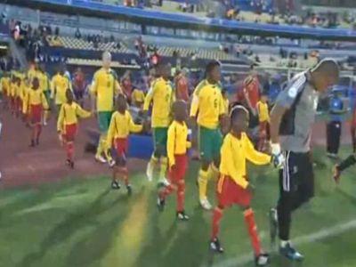 A Bafana Bafana a jó szereplésben reménykedik rendezőként