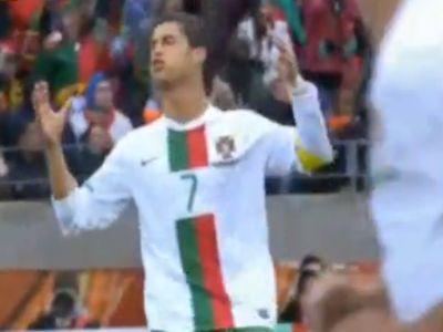 Cristiano Ronaldo kapufáján kívül semmi sem történt