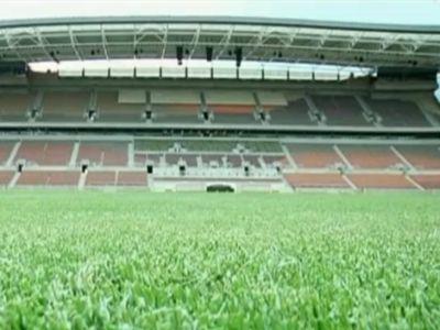 A stadionok még üresek, de mi lesz itt bő egy hét múlva...
