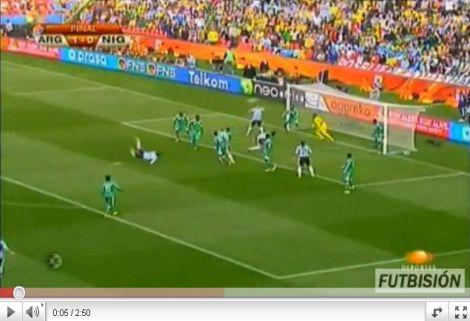 Argentína - Nigéria: 1-0
