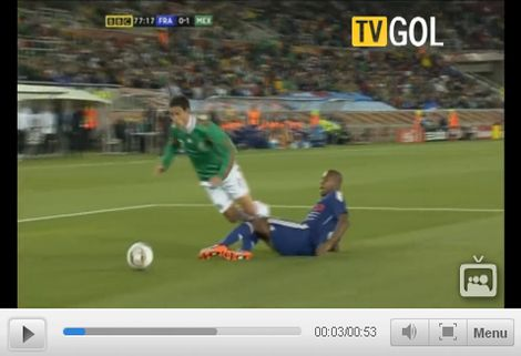 Franciaország - Mexikó: 0-2