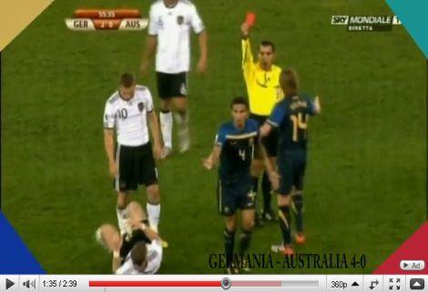 Németország - Ausztrália: 4-0
