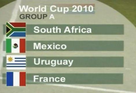 VB 2010: A-csoport